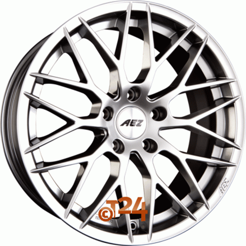 Диск AEZ Antigua 9,5x19 5x120 et28 d72,6 High Gloss
