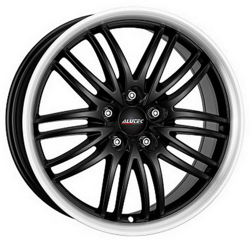 Диск Alutec Black Sun 8,5x19 5x108 et40 d70,1 Racing Black Lip Polished