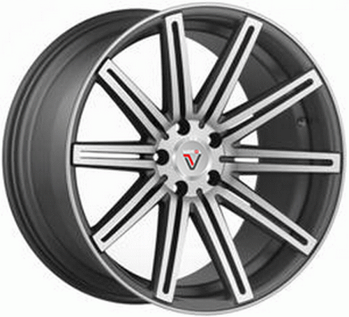 Диск Vissol Forged F-004 9,0x20 5x114,3 et32 d73,1 Matte Graphite Machined