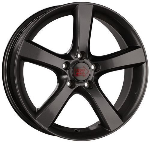 Диск 1000 Miglia MM1001 8,0x18 5x112 et35 d66,6 Dark Anthracite High Gloss