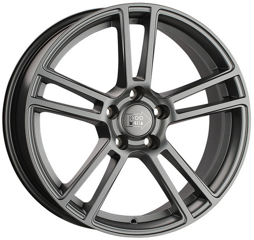 Диск 1000 Miglia MM1002 8,0x18 5x112 et45 d66,6 Matt Anthracite