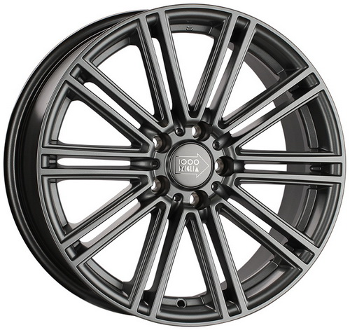 Диск 1000 Miglia MM1005 7,5x17 5x112 et45 d66,6 Matt Anthracite